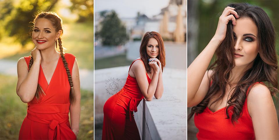 Portré fotózás szabadtéren