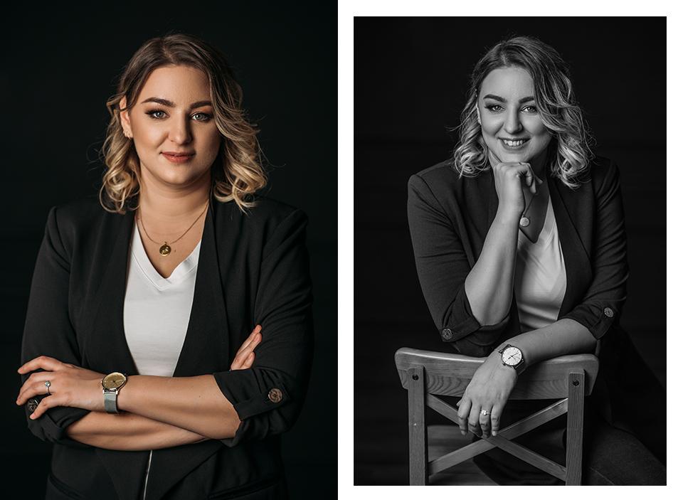 Üzleti portfólió portré-fotózás
